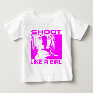 SHOOT LIKE A GIRL BABY T-Shirt