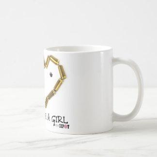 Shoot Like A Girl Classic White Coffee Mug