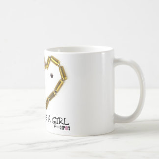 Shoot Like A Girl Coffee Mug