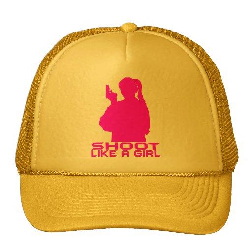 SHOOT LIKE A GIRL MESH HAT