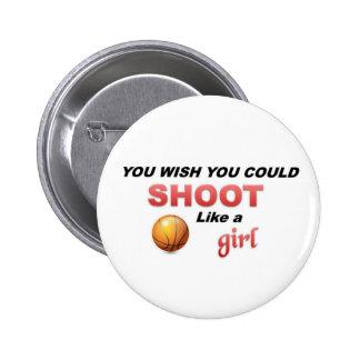 Shoot like a girl pins