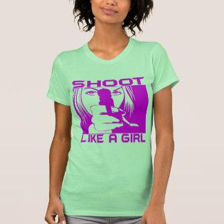 SHOOT LIKE A GIRL TSHIRT