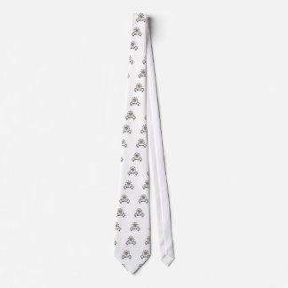 shoot out western art tie
