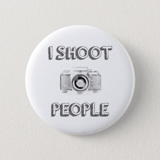 shoot people funny text photo camera photographer 2 inch round button