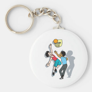 Shoot Some Hoops Keychains