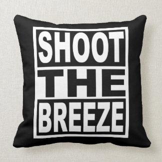 Shoot the Breeze Throw Pillow
