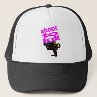 Shoot to kill trucker hat