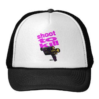 Shoot to kill trucker hat