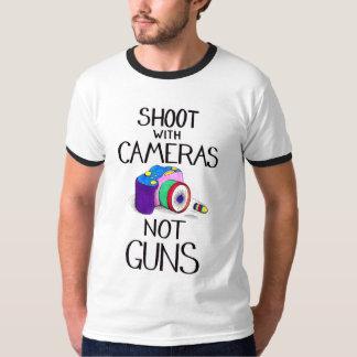 Shoot with Cameras, Not Guns T-Shirt