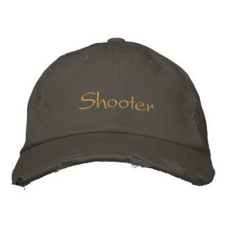 Shooter Embroidered Hats