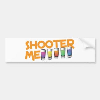 shooter me car bumper sticker