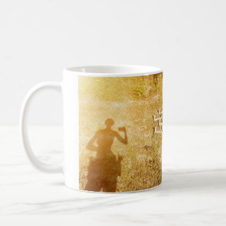 shooter selfie silhouette coffee mug