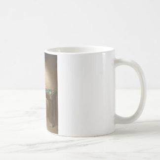 Shooting Billiards Pin Up Art Coffee Mug