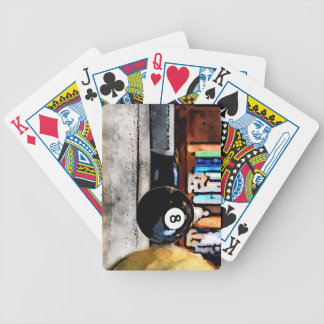 Shooting For The Eight Ball Bicycle Playing Cards