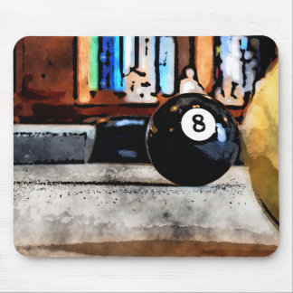 Shooting For The Eight Ball Mouse Pad