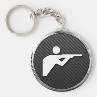 Shooting Icon Keychain