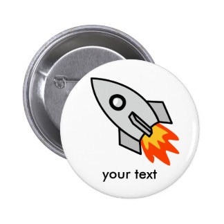 Shooting rocket Gifts 2 Inch Round Button