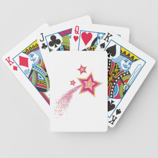 Shooting Star Bicycle Playing Cards
