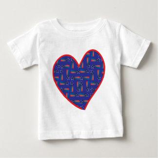 Shooting-Star-Heart Baby T-Shirt