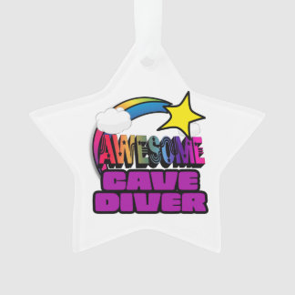 Shooting Star Rainbow Awesome Cave Diver