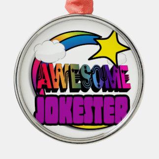 Shooting Star Rainbow Awesome Jokester Christmas Tree Ornaments