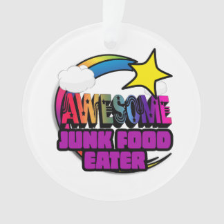 Shooting Star Rainbow Awesome Junk Food Eater