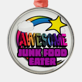 Shooting Star Rainbow Awesome Junk Food Eater Ornament