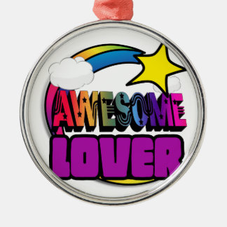 Shooting Star Rainbow Awesome Lover Christmas Ornament