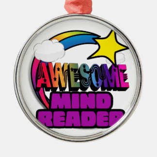 Shooting Star Rainbow Awesome Mind Reader Christmas Tree Ornaments