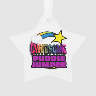 Shooting Star Rainbow Awesome Puddle Jumper