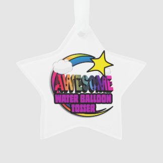 Shooting Star Rainbow Awesome Water Balloon Tosser