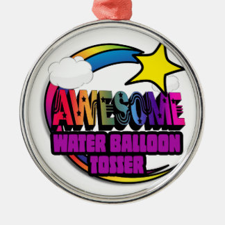 Shooting Star Rainbow Awesome Water Balloon Tosser Ornament