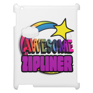 Shooting Star Rainbow Awesome Zipliner Case For The iPad 2 3 4