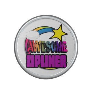 Shooting Star Rainbow Awesome Zipliner Speaker