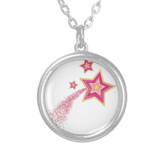 Shooting Star Silver Plated Necklace
