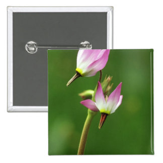 Shooting star wildflower, California, USA 2 Inch Square Button