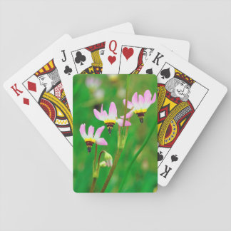 Shooting Star Wildflowers in Mission Trails Park Poker Deck