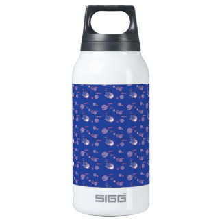 Shooting Stars and Comets Blue Thermos Bottle