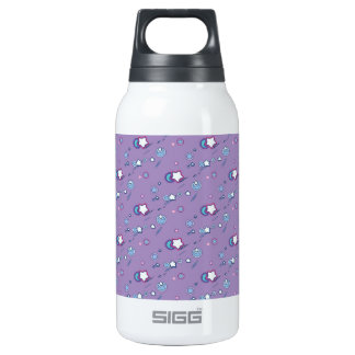 Shooting Stars and Comets Pastel Purple Thermos