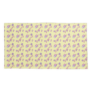 Shooting Stars and Comets Yellow Pillow Cases Pillowcase