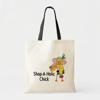 Shop-A-Holic chick Tote Bag