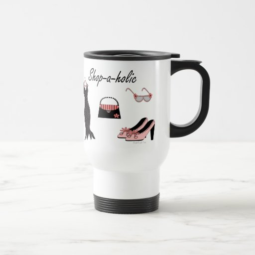 Shop-a-holic Coffee Mugs