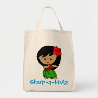 Shop-a-Hula Grocery Tote Bag