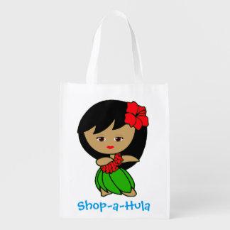 Shop-a-Hula reusable grocery bag