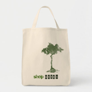 shop green tote bags