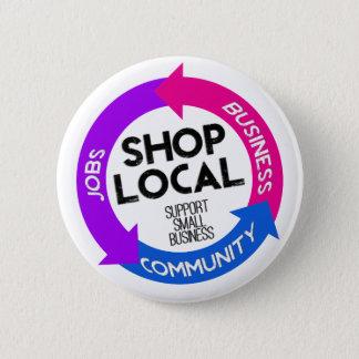 Shop Local 2 Inch Round Button