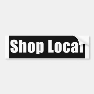 Shop Local Bumper Sticker