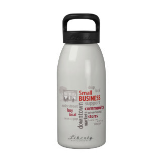 Shop Local Small Business Water Bottle