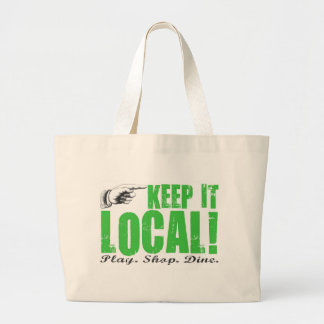 Shop local tote