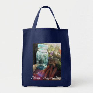 Shop Naturally Grocery Tote Bag